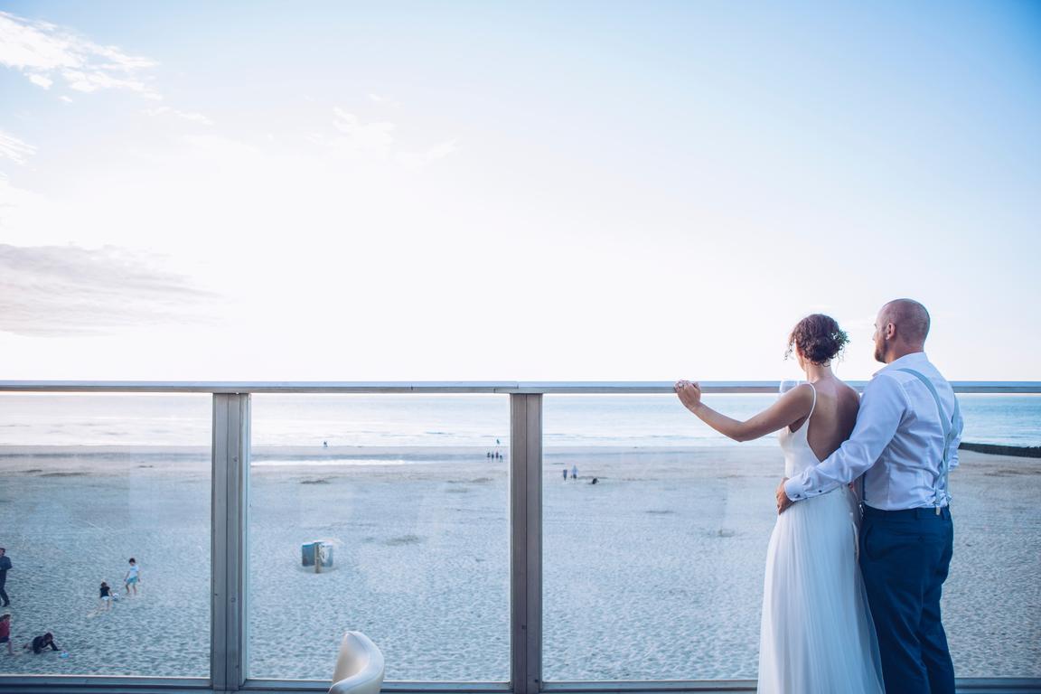 Cadzand-Bad - Hochzeit am Strand