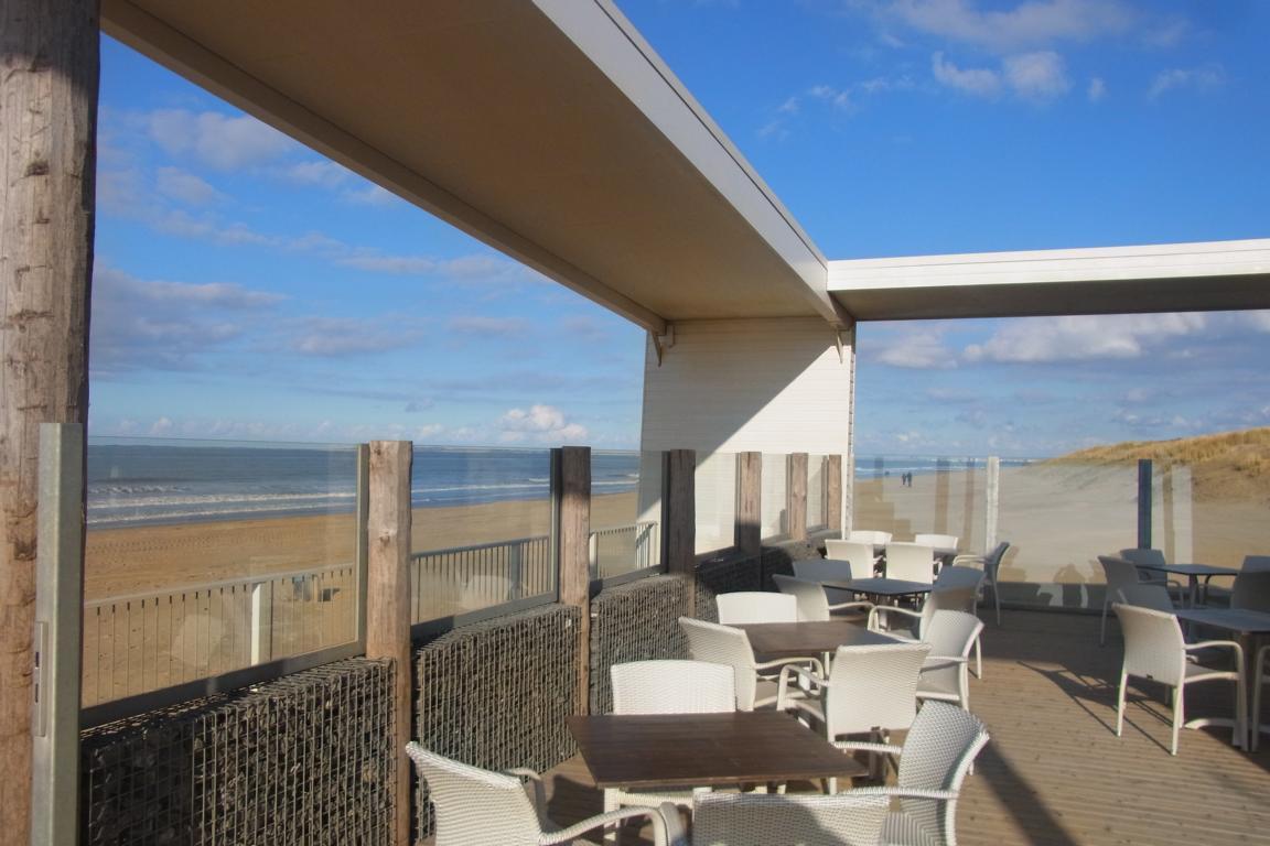 Cadzand-Bad - Strandpavillon Strand Ruig