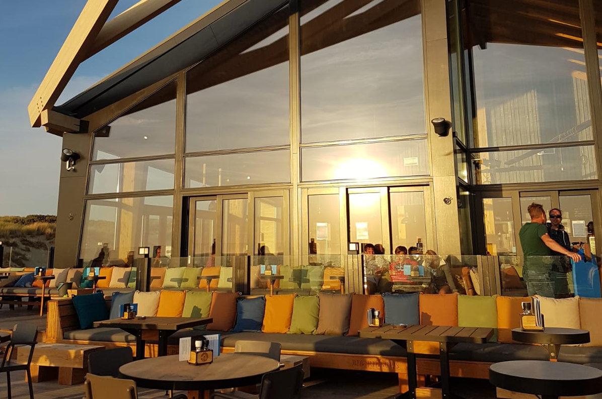 "Cadzand-Bad: Strandpavillon ""De Zeemeeuw"
