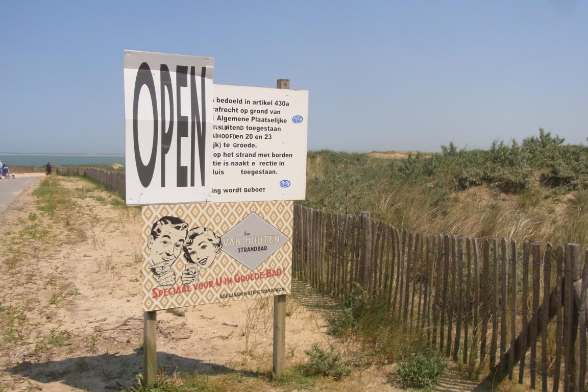Groede - Strandhut van Houten