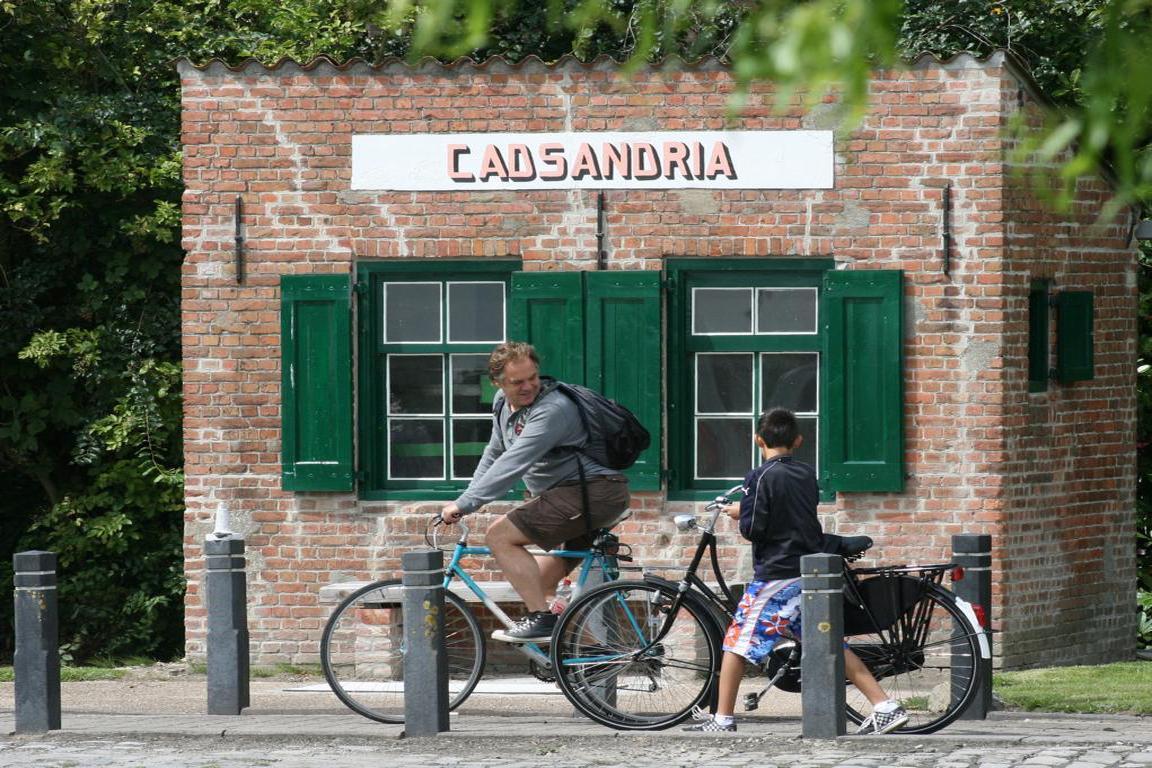 Cadzand - Brückenwaage Cadsandria