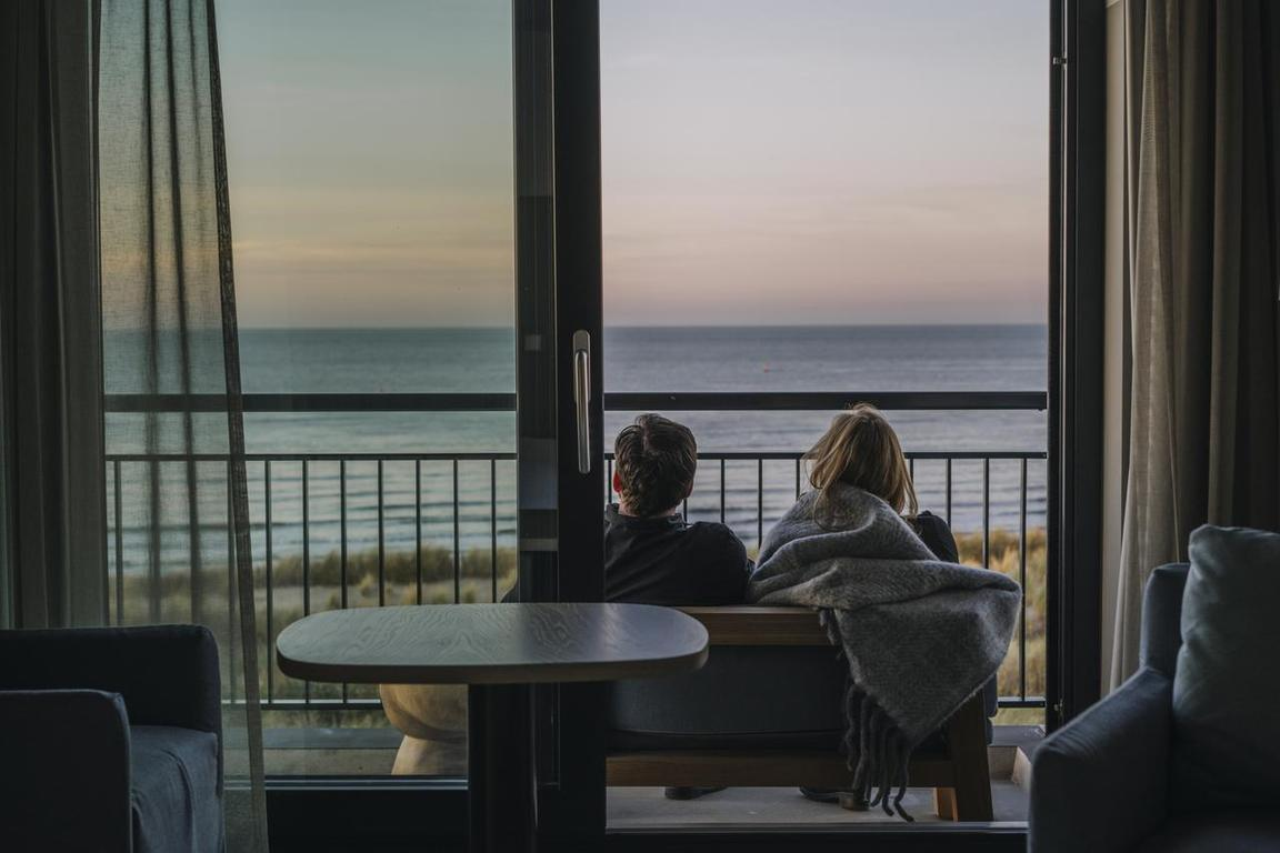 Strandhotel Cadzand-Bad - Blick auf die Nordsee