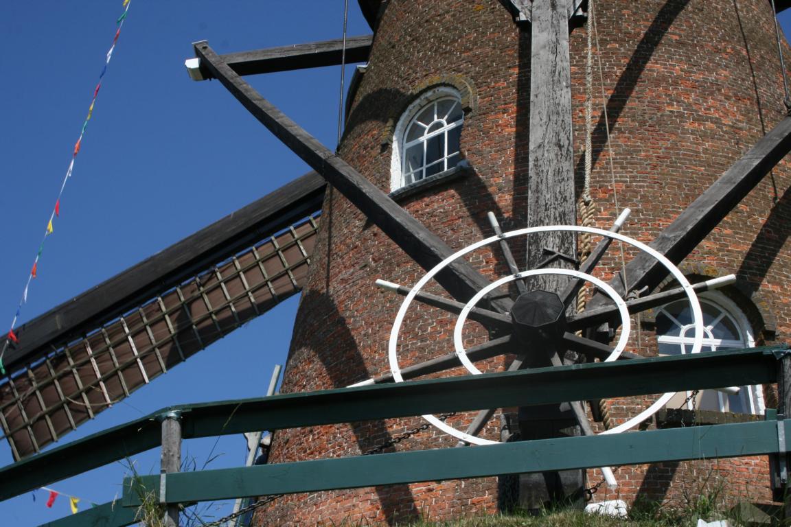 "Cadzand- - Windmühle ""Het NooitgedachT"""
