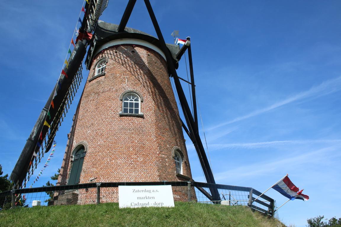 """Cadzand-Dorf - Windmühle """"Het Nooitgedacht"""""""