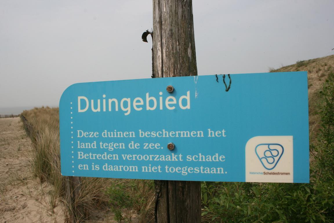 Cadzand-bad -Dünenschutzgebiet
