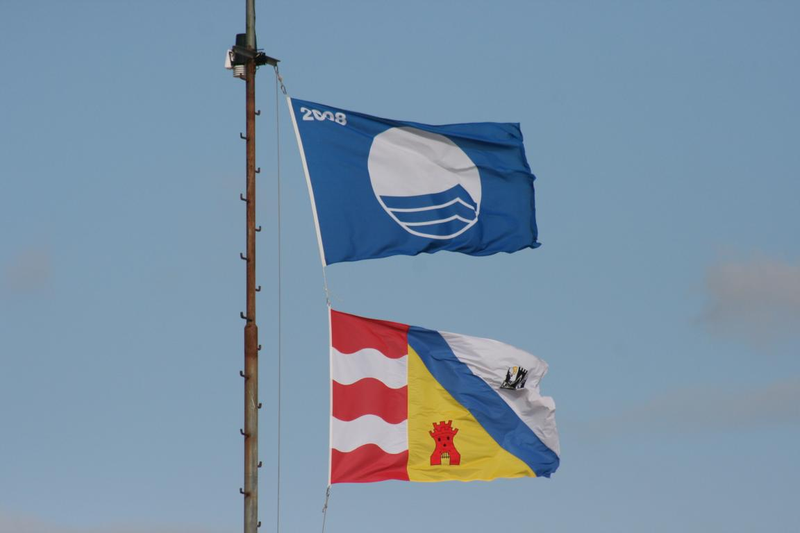 Cadzand-Bad - Blaue Flagge
