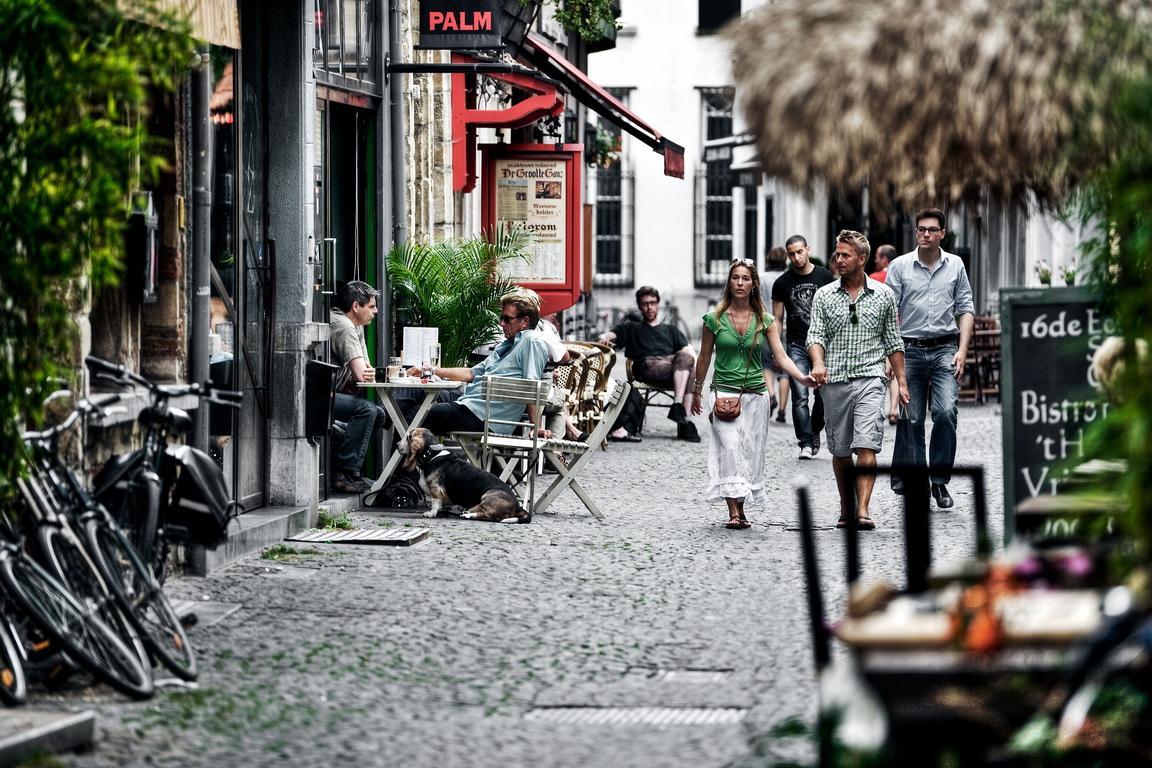 Antwerpen - Atmosphäre