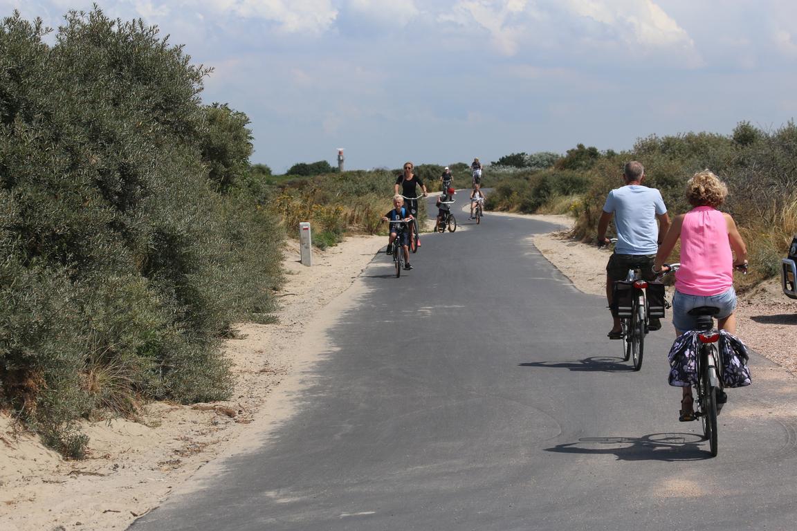 Cadzand-Bad - Fahrradfahren