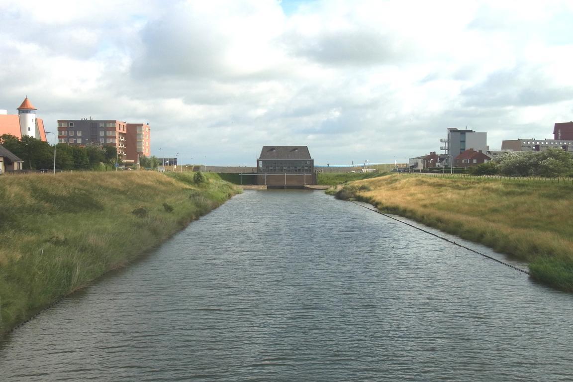 Cadzand-Bad - Uitwatering-Kanal
