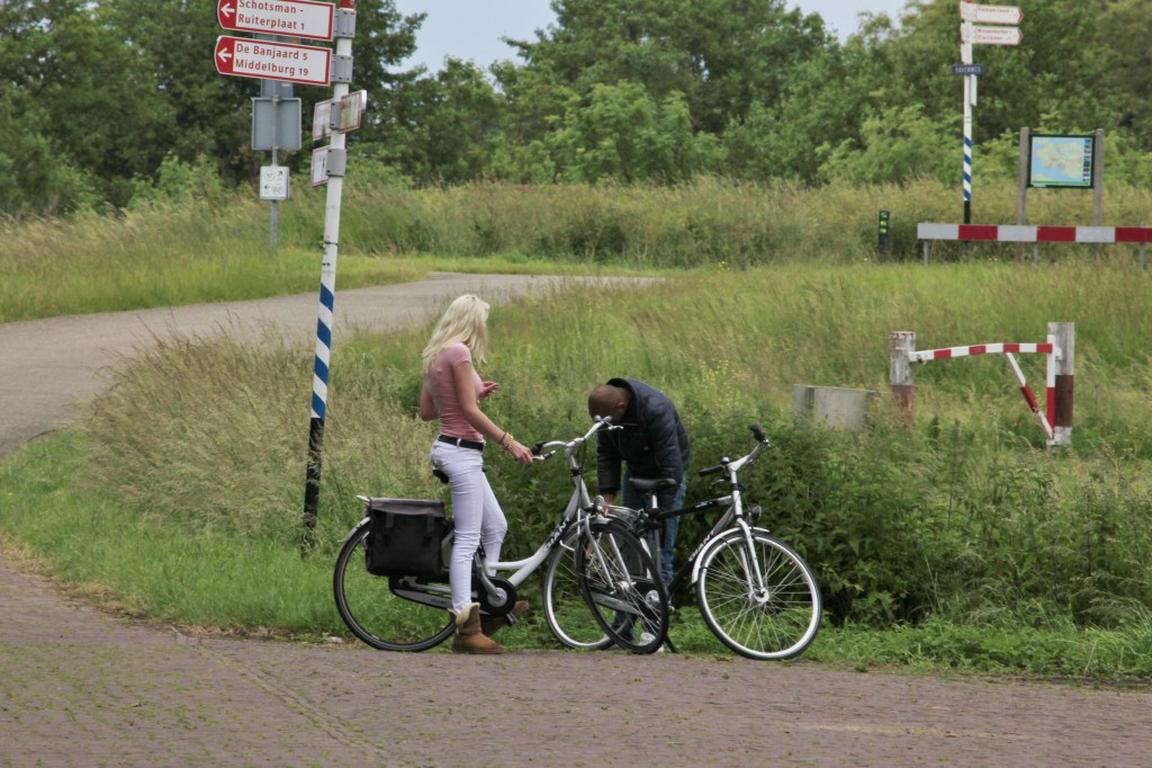 Cadzand-Bad - Radweg-Netz