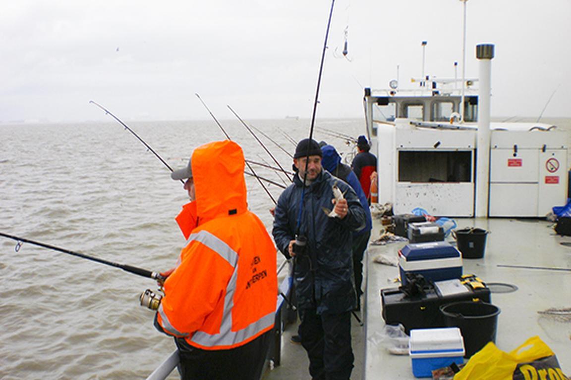 """Sportfischer-Tour mit der """"de Festijn"""", Breskens"""