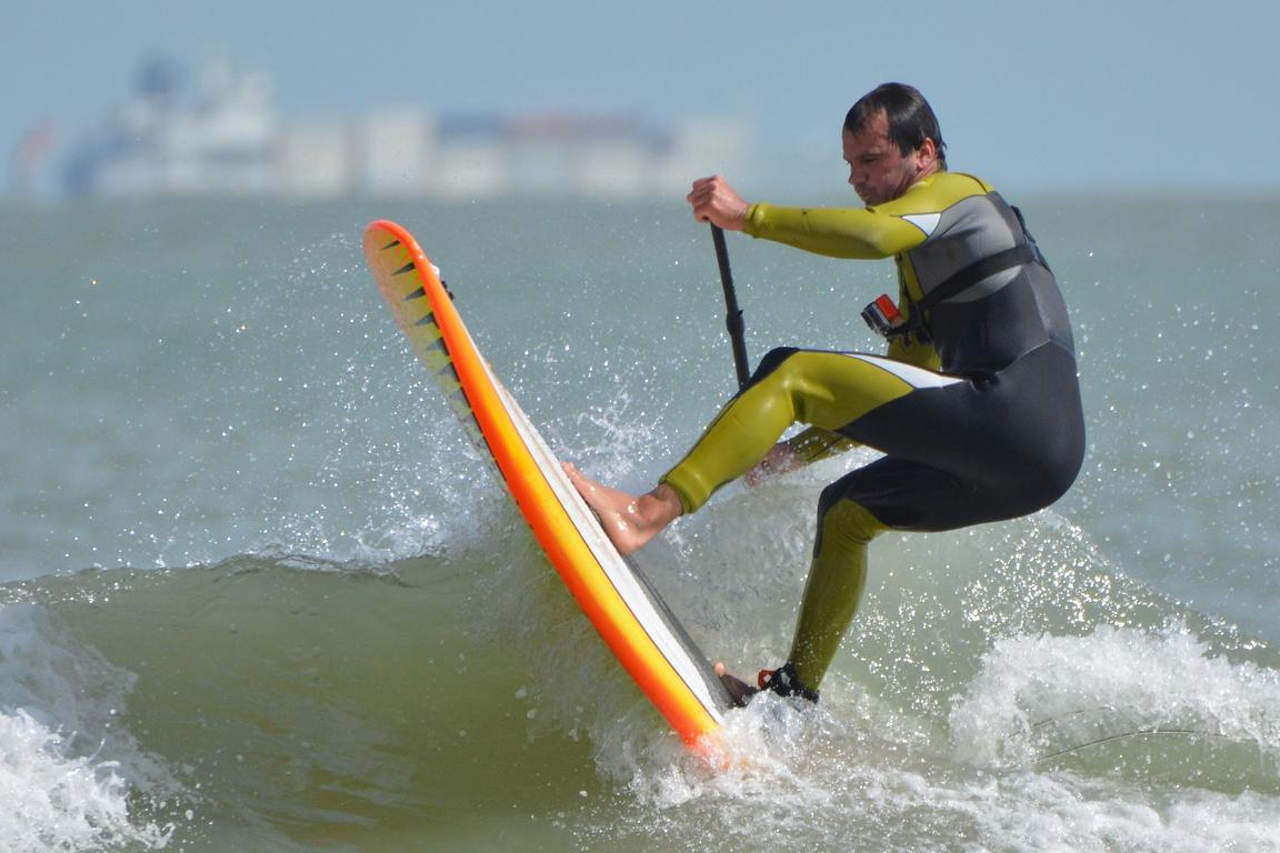 Stand Up Paddling met ``SUP 13``, Groede strand