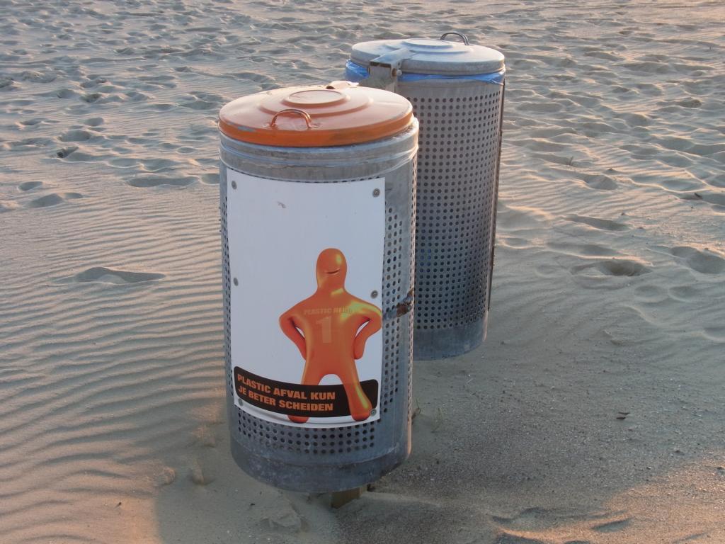 Cadzand-Bad - Müllentsorgung