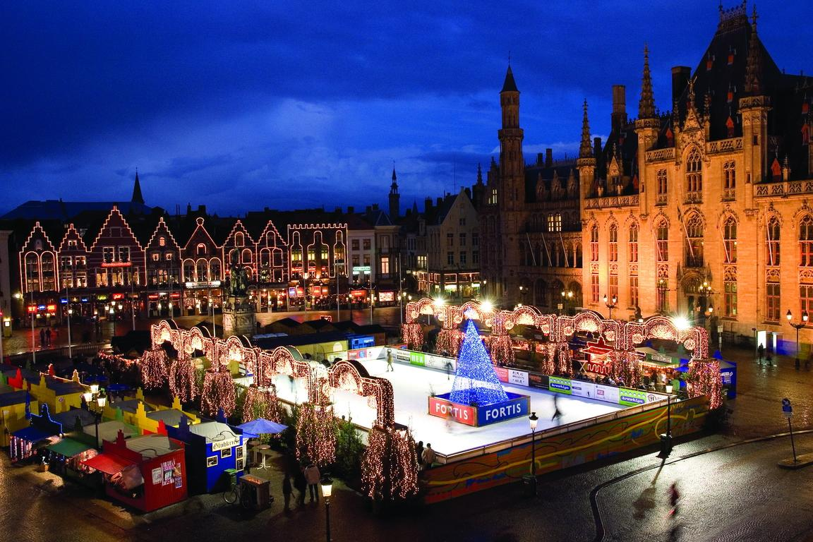 Weihnachtsmarkt Brügge