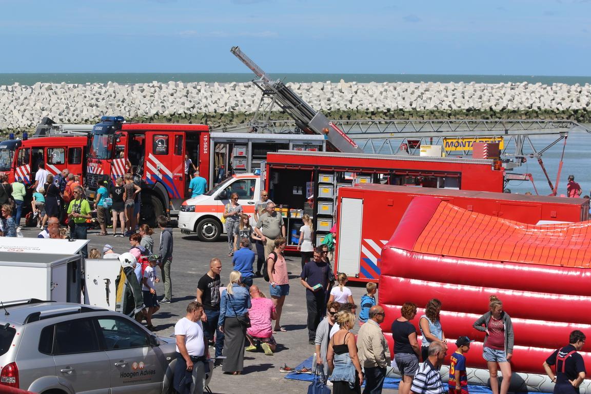 KNRM-Rettungsboot-Tag Cadzand-Bad