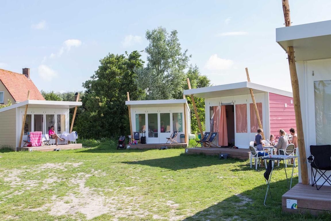 Luxuriöse Zelthütte ``Hommel``