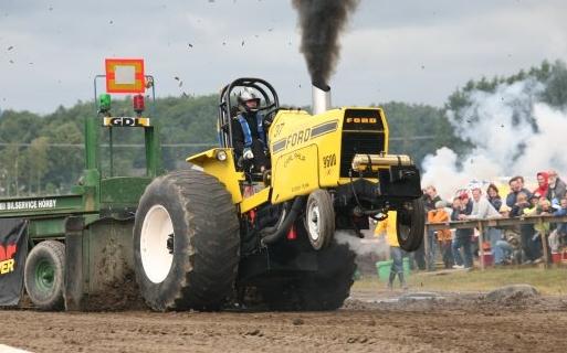 Traktorpulling Cadzand-Bad